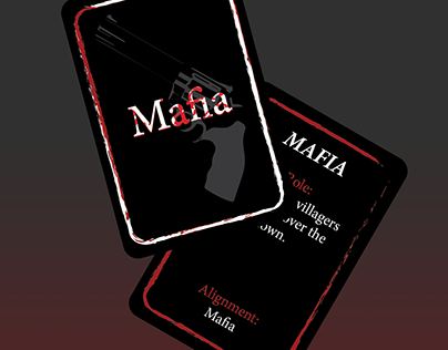 Film Noir Mafia Cards