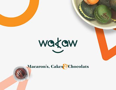 WAKAW, Macarons & Chocolats. Branding.