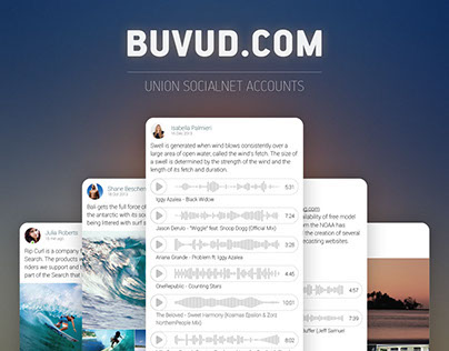 UI/UX concept buvud.com