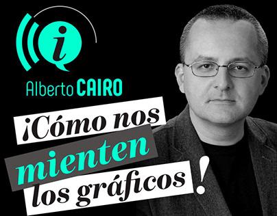 ¡Cómo nos mienten los gráficos! con Alberto Cairo