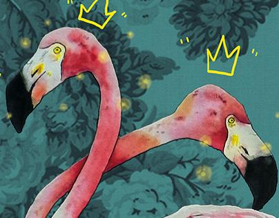 Birds (watercolour+digital)