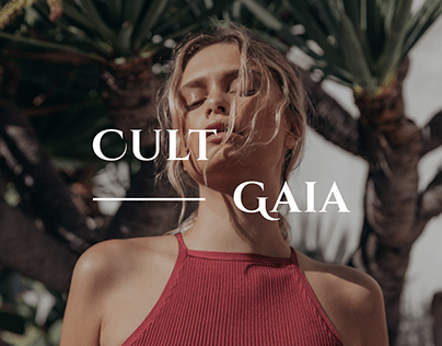 CULT GAIA — website redesign