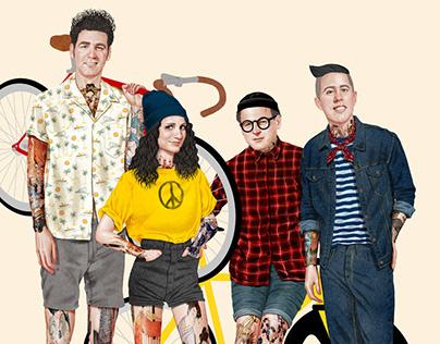 Hipster Seinfeld - Spoke Art Gallery