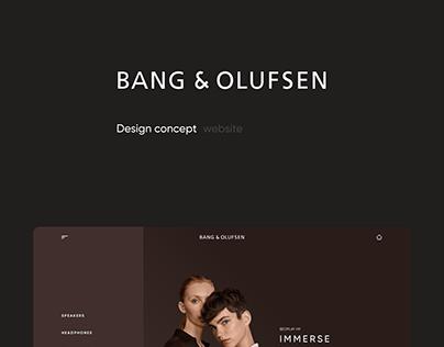 online store - Bang&Olufsen