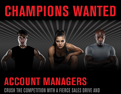 Champions Wanted - Recruitment Campaign Series