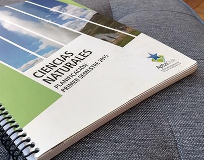 Diseño editorial Ciencias Naturales Aptus Chile