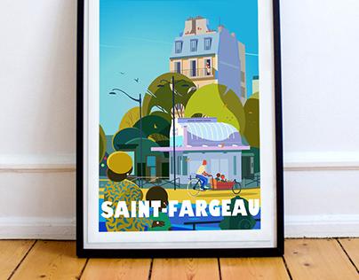 Saint-Fargeau - Paris 20 ème