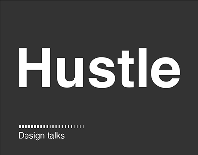 Hustle Design Talks 2019