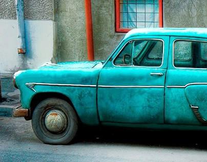 Retoque digital - Old Car