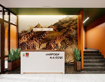 Entrance lobby interiors