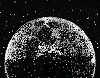 dots moon
