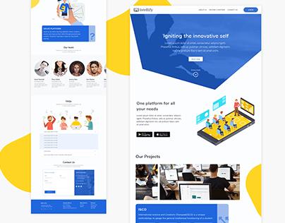 Landing Page - Intellify