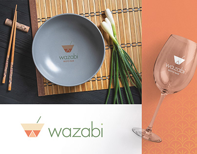 Wasabi Asian Modern Restaurant Brand Identity