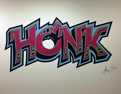 Honk Graffiti