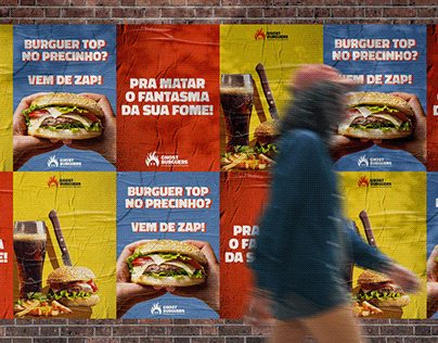Branding l Ghost Burgers