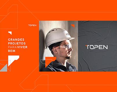 Topen Engenharia - Logo/Identity