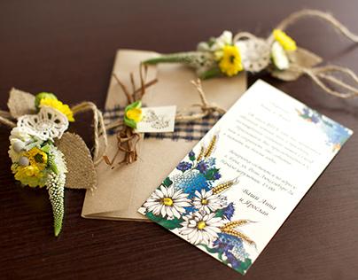 Development wedding invitation