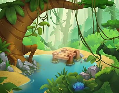 Jungle environment