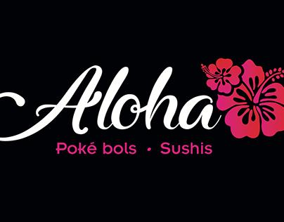 Logo Aloha Sushis