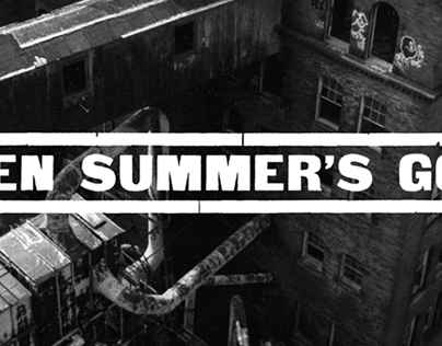 "When Summer's Gone ""Self-Titled"" - Music Packaging"