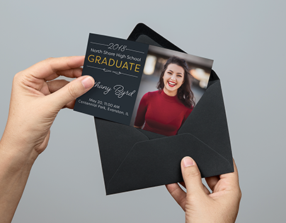 Freebie! Grad Announcement/Invite Template