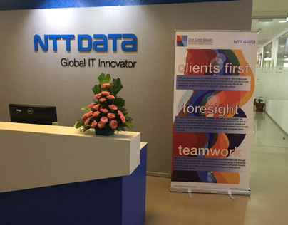 NTT Data FA insurance systems projects