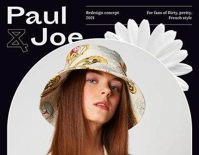 Paul & Joe — redesign concept