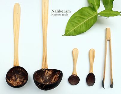 Nalikeram Kitchen tools