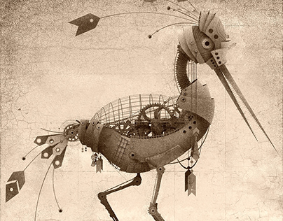 Steampunk Birds