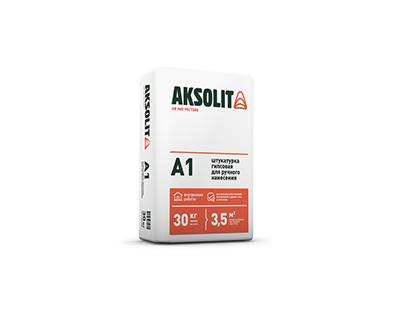 Presentation of plant gypsum building materials Aksolit