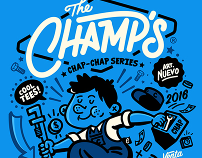 - The Champs - by Chap Chap Funny Wear