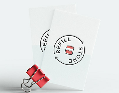 Refill Store - Logo, Charte Graphique, Flyers, Banner