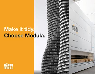 Modula. Concept Calendar 2018