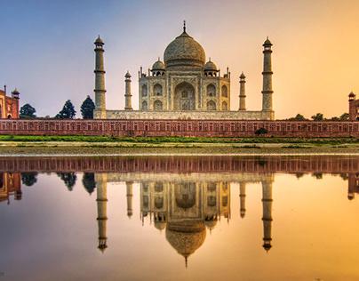 Beautiful Taj Mahal Photography