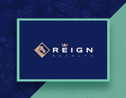 The logo for Reign Results. Versions.
