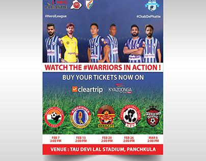Minerva Punjab FC Marketing Design