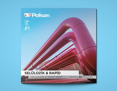 POLiSAN - Cellulose & Rapid Paint Color Chart