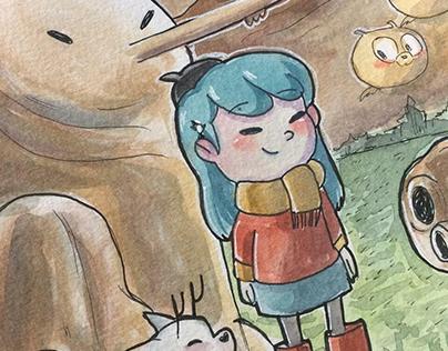 Hilda - fanart