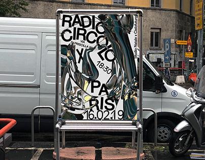 Radio Circolo x Paris Oracle Poster Design