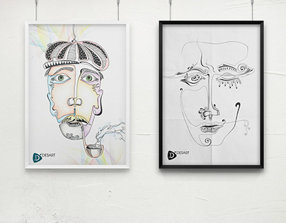 "POSTERS ""FACE"""