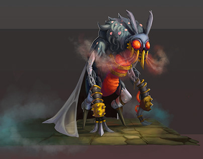 "Concept art character ""Moth"""