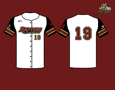 2019 Rapids Rafters Home Jersey