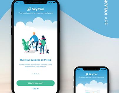 SkyTax App UI/UX