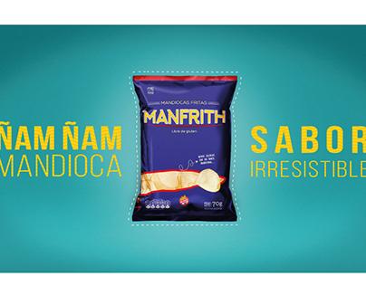 Mandioca Frita Manfrith