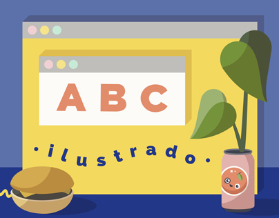 ABC ilustrado / abecedario