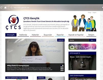 ÇTCS Gençlik Web Sitesi