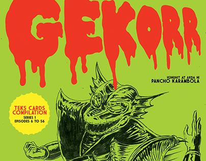 Gekorr Komiks Cards Compilation Series 1