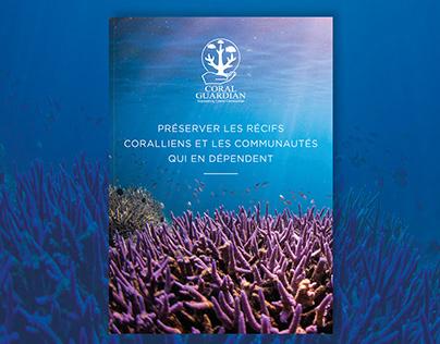 Presentation leaflet - Coral Guardian