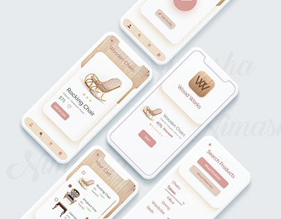 Wooden Products App