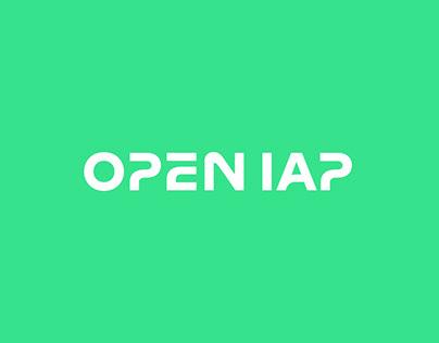 Brand identity for Open IAP